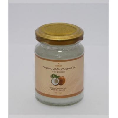 Кокосовое пищевое органическое масло ,400 г Шри Ланка /стекло/