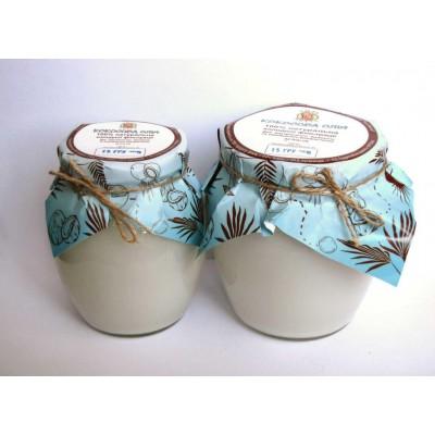 Натуральное пищевое кокосовое масло .Сырье Индонезия 1л