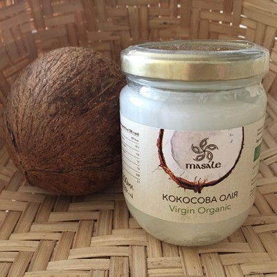 Кокосовое масло Organic Virgin 200 мл Шри Ланка
