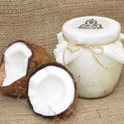 Пищевое кокосовое масло молоко сливки вода