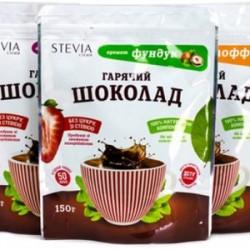 Горячий шоколад со стевией